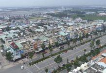Khu trung tâm Bàu Bàng ngày nay