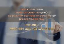 Dịch vụ đăng ký kinh doanh tại Bình Dương