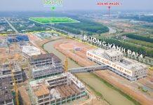 Thực tế tiến độ thi công Đại học quốc tế Việt Đức tháng 12/2019