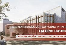 Dịch vụ chuyển nhượng vốn góp trong Công ty TNHH tại Bình Dương