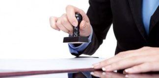 Bỏ quy định doanh nghiệp phải thông báo mẫu dấu