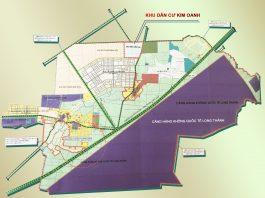 Vị trí dự án Khu dân cư Kim Oanh - Liền kề Sân bay quốc tế Long Thành