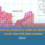 Tải về bản đồ quy hoạch sử dụng đất Thị xã Tân Uyên (Bình Dương)