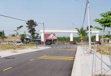 Thực tế hạ tầng dự án The Eden City Bàu Bàng tháng 03/2020