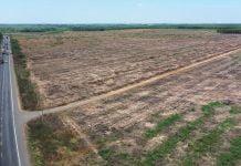 Một góc của khu đất rộng 49,8 ha nằm gần sân bay quốc tế Long Thành Kim Oanh Group vừa nhận bàn giao