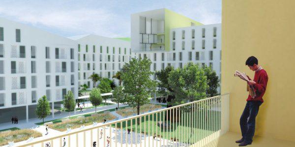 Phối cảnh không gian dự án Đại học quốc tế Việt Đức