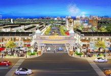Phối cảnh cổng dự án Avenue City