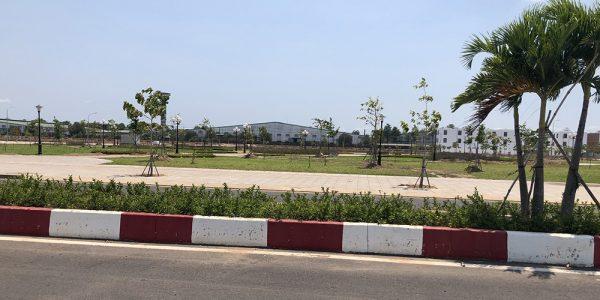 Thực tế dự án Khu dân cư và siêu thị Trảng Bom