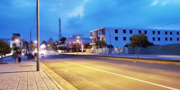 Dân cư xung quanh dự án Khu dân cư và siêu thị Trảnh Bom về đêm