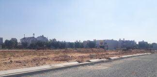 Dự án khu nhà ở thương mại đường sắt đang bị tạm ngưng.