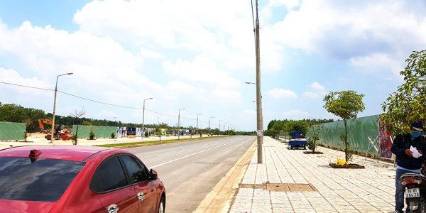 Mặt tiền đường 30/4 dự án Khu dân cư và siêu thị Trảng Bom