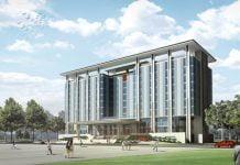 Trung tâm hành chính Bàu Bàng theo thiết kế