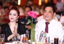 Ông Huỳnh Uy Dũng và vợ là bà Nguyễn Phương Hằng trong một sự kiện