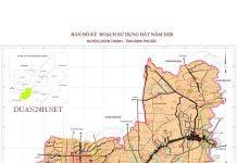 Bản đồ kế hoạch sử dụng đất Chơn Thành (Bình Phước) cập nhật mới nhất