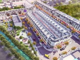 Phối cảnh tổng thể dự án Đại Phát Mall Town