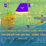 Tải về bản đồ quy hoạch xây dựng vùng huyện Đất Đỏ (Bà Rịa - Vũng Tàu)