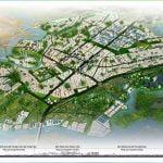 Phối cảnh đô thị công nghiệp Nhơn Trạch theo quy hoạch