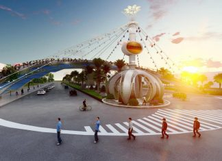 Khu công nghiệp Ledana tại Lộc Ninh (Bình Phước) có quy mô 424,5ha