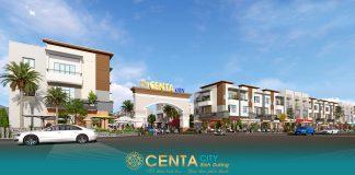 Khu đô thị Centra City Bình Dương, phố thương mại dịch vụ trong lòng Khu công nghiệp Vsip 2