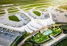 Phối cảnh sân bay quốc tế Long Thành theo thiết kế