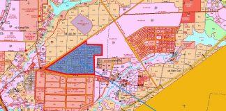 Tái định cư Lộc An - Bình Sơn đang gấp rút thi công hạ tầng