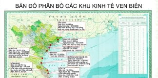 Danh mục phân bổ các khu kinh tế ven biển tại Việt Nam