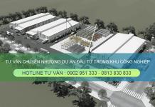 Dịch vụ tư vấn chuyển nhượng dự án đầu tư trong Khu công nghiệp