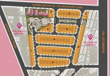 Bản đồ phân lô Khu nhà ở Kim Thuận Phát An Phú (Queen Home An Phú)
