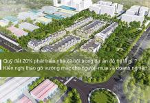 Tìm hiểu về quỹ đất 20% phát triển nhà xã hội tại các dự án nhà ở