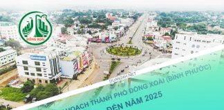 Quy hoạch thành phố Đồng Xoài đến năm 2025