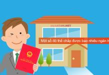 Sổ đỏ thế chấp ngân hàng, những điều cần biết ?