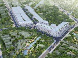 Phối cảnh tổng thể Khu đô thị Thái Bình (Bắc Tân Uyên, Bình Dương)