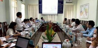 Ảnh: Toàn cảnh buổi làm giữa Huyện Phú Giáo và Becamex IDC việc