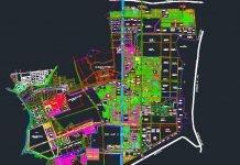 Tải về bản đồ Khu dân cư và công nghiệp Mỹ Phước 1,2,3,4 file CAD