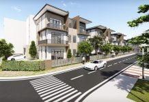 Phối cảnh minh họa dự án Khu nhà ở Bàu Bàng 2 - New Land