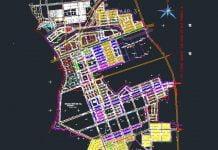 Tải về Bản đồ Khu dân cư và công nghiệp Mỹ Phước 4 (file CAD)