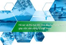 Dịch vụ tư vấn thủ tục khi nhà đầu tư nước ngoài góp vốn vào công ty Việt Nam
