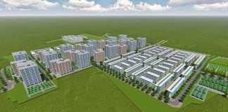 Thiết kế tổng thể toàn khu Nhà xã hội Becamex Định Hòa