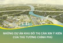 Trường hợp dự án khu đô thị phải xin ý kiến Thủ tướng chính phủ.