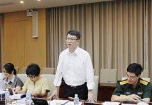 Cục trưởng Cục Phát triển đô thị Trần Quốc Thái chủ trì Hội nghị thẩm định.