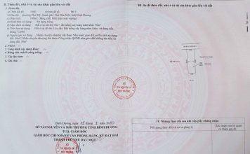 Sổ hồng lô đất 100m2, lối đi chung 4m tại Phú Mỹ, Thủ Dầu Một