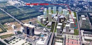 Vị trí xây dựng dự án The Foret Suites tại Thành phố mới
