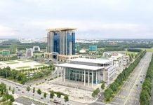 """Trung tâm hành chính tỉnh Bình Dương - """"trái tim"""" của Thành phố thông minh Bình Dương."""