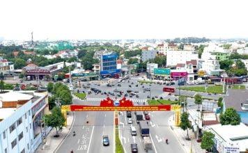 Một góc trung tâm thành phố Thủ Dầu Một.