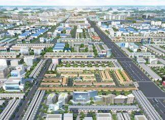 Phối cảnh tổng thể dự án BenCat City Zone
