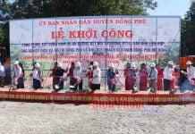Lãnh đạo tỉnh cùng nhà đầu tư dự án thực hiện nghi lễ động thổ khởi công công trình
