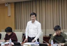 Thứ trưởng Nguyễn Tường Văn tổng kết ý kiến đóng góp của Hội đồng thẩm định.