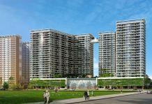 Phối cảnh tổng thể dự án Midori Park The Glory tại Thành phố mới Bình Dương