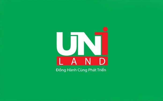 Logo nhận diện thương hiệu của Công ty cổ phần Uniland