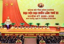 Đại Biểu Đại Hội lần thứ XI nhiệm kỳ 2020 - 2025 tỉnh Bình Dương